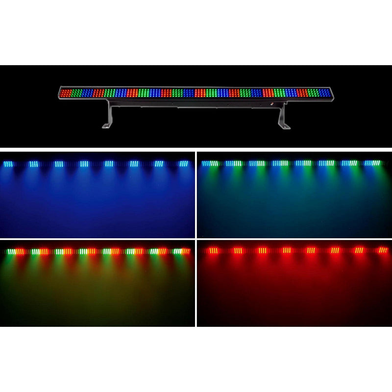 Led bar with 384 LED RGB