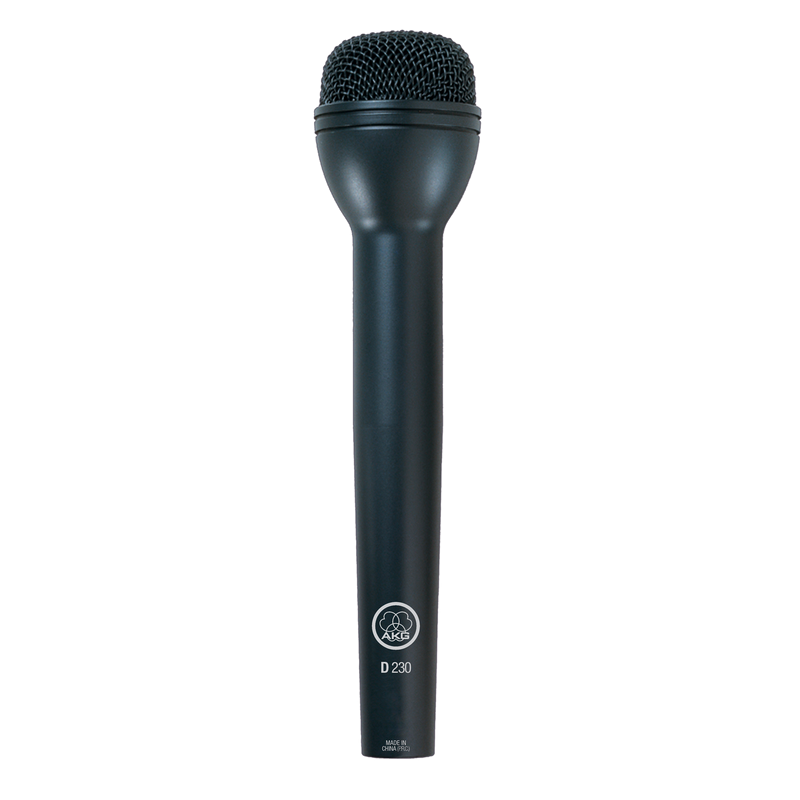 High-performance dynamic ENG microphone