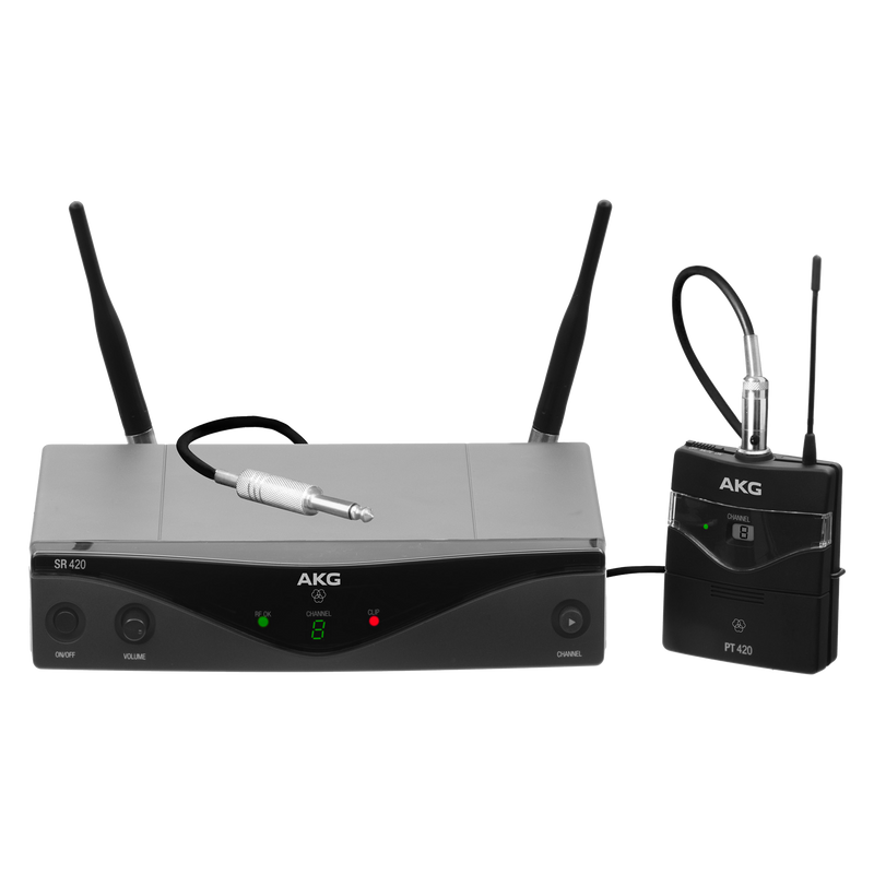 Professional wireless microphone system