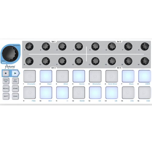 Drum machine sequencer