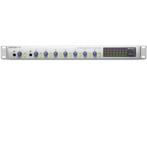 8 CHANNEL MIC PREAMP