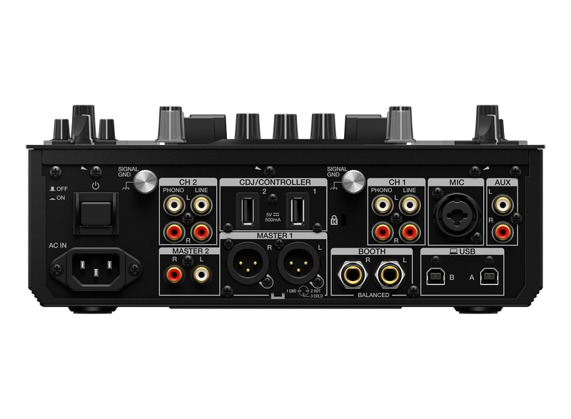 Mixer 2 channels with FX and velocity pads (PROMO FREE HDJ-X5 & DJ MASK)