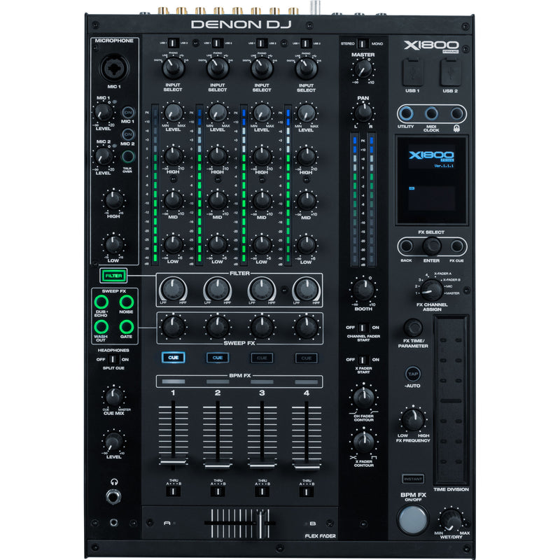 DJ mixer-bpm-fx-dual usb (NEW-OPEN BOX)