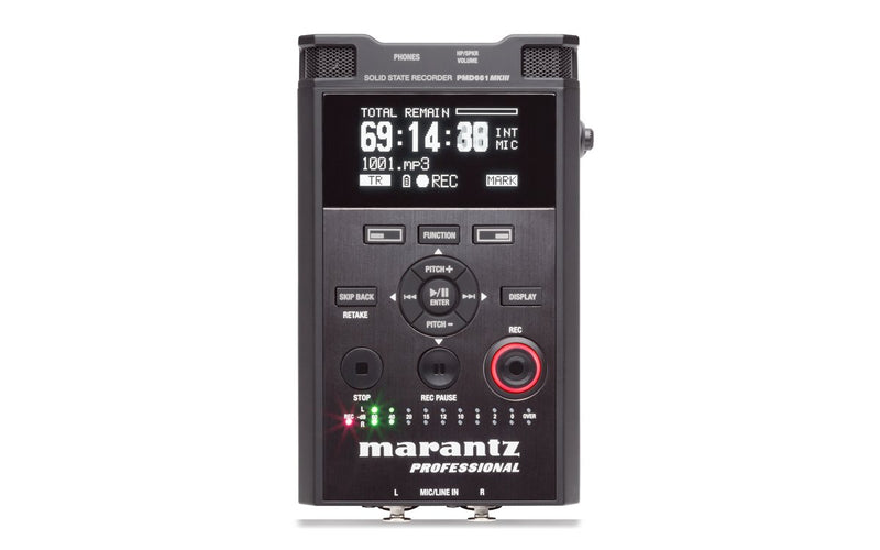 Professional audio recorder with encryption