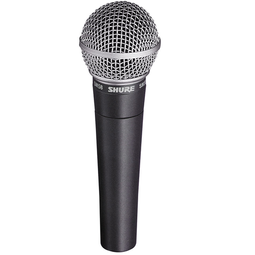 The Legency SM58 Vocal microphone