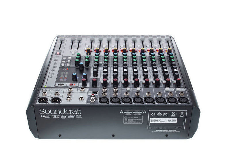 12 input live and recording console