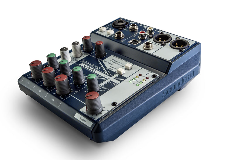 5 channels mixer with USB