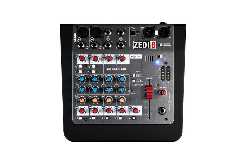 2 Mono 2 Stereo channel Mixer with USB in/out