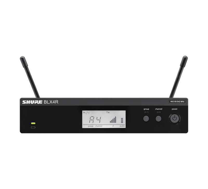 Wireless system with SM58 (rackmountable)