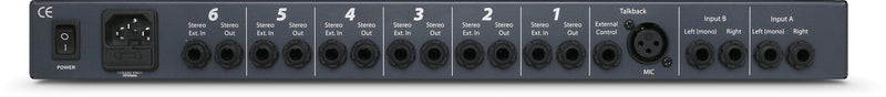 6-Channel Headphone Mixing System