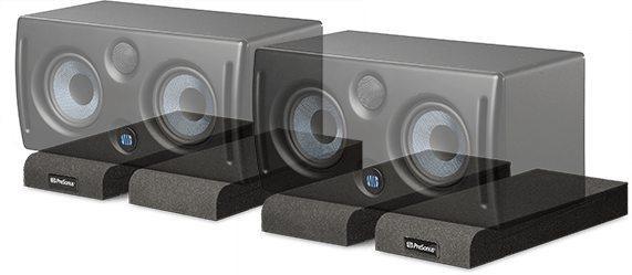 Acoustic isolation for studio monitors. (Pair)