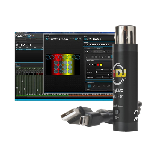 DMX controler with software