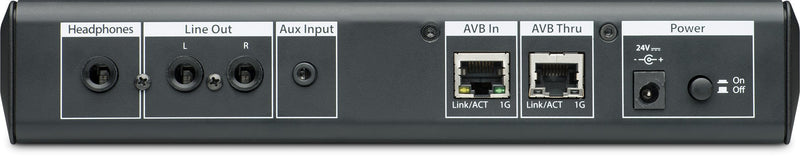 16x2 AVB-networked personal monitor mixer