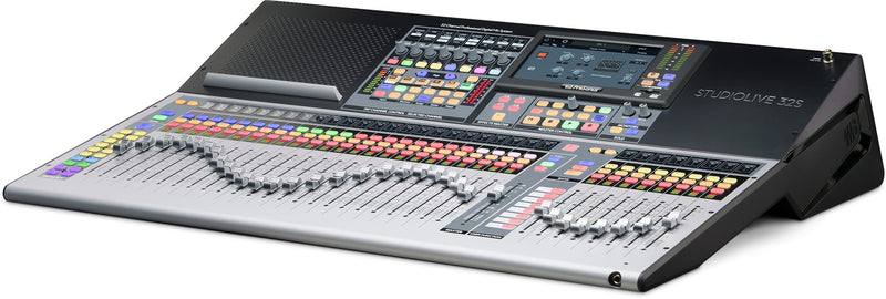 32-channel digital mixer and USB audio interface