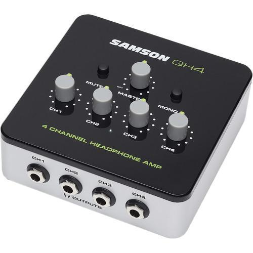 4-Channel Stereo Headphone Amplifier.