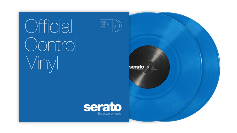 "10"" Serato Standard Colors (Pair) BLUE"
