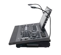 ONYX lighting console with screen and motorized faders