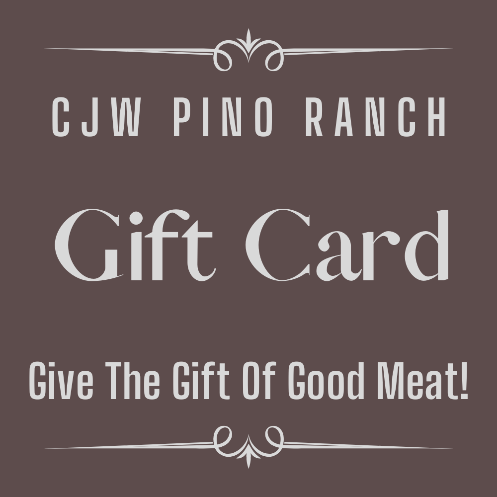 CJW Pino Ranch Gift Cards