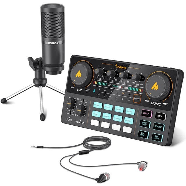 All-In-On Microphone Mixer Kit