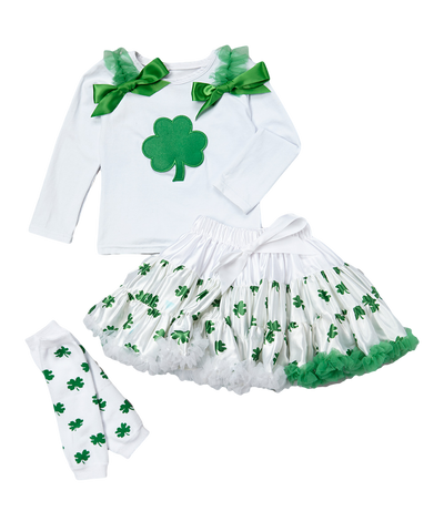 Shamrock Pettiskirt Set & Warmers