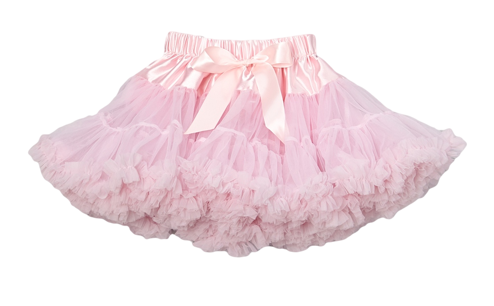 Pink Chiffon Pettiskirt Tutu Royal Gem Clothing
