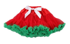 Red & Green Christmas Chiffon Pettiskirt Tutu