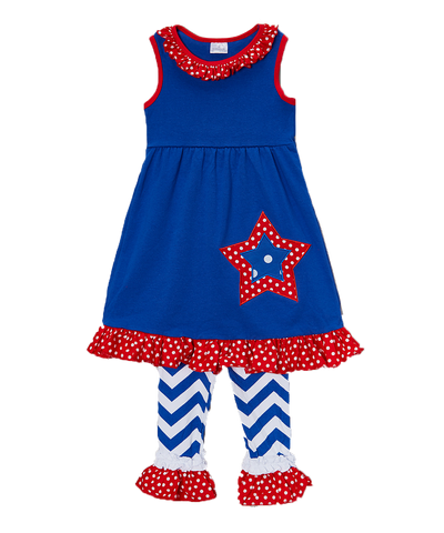 4th of July Star Tank & Short Set