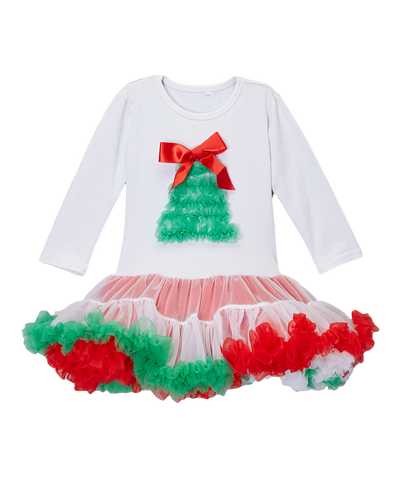 Christmas Tree Long Sleeve Pettidress