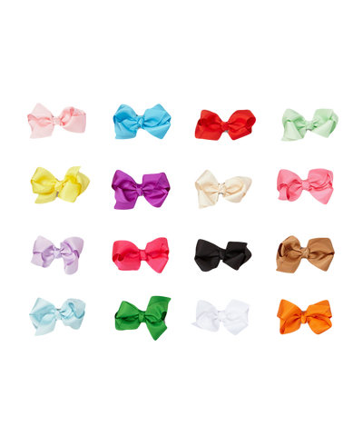 16pc Rainbow Clip Set