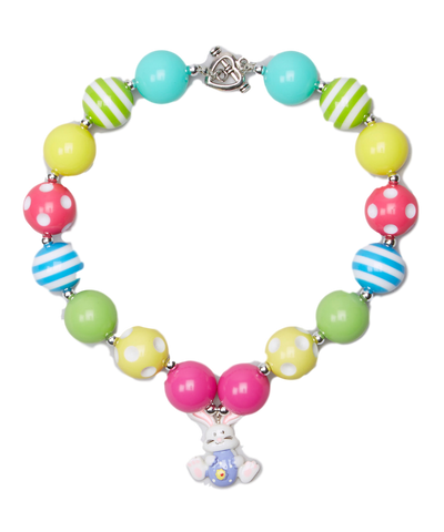 Bright Easter Bunny Necklace