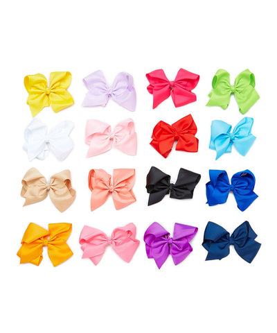 Wholesale 16pc Oversized Rainbow Clip Set