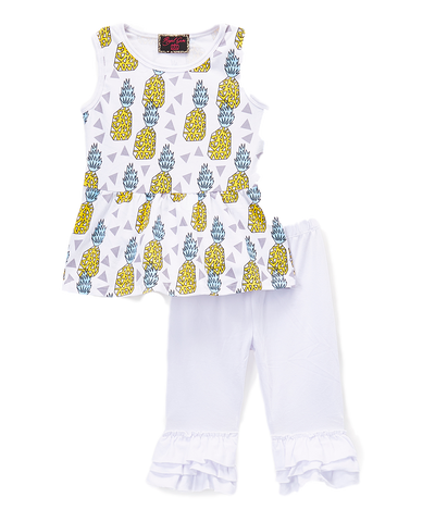 Pineapple Pant & Top Set