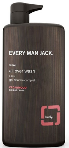 Every Man Jack / 3-in-1 All Over Wash Cedarwood