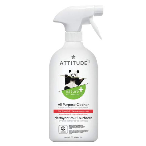 ATTITUDE Nature + All Purpose Cleaner / Pink Grapefruit