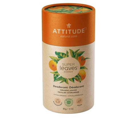 ATTITUDE Super Leaves Natural Deodorant / Orange Leaves