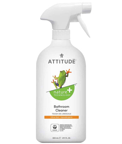 ATTITUDE Nature + Bathroom Cleaner / Citrus Zest