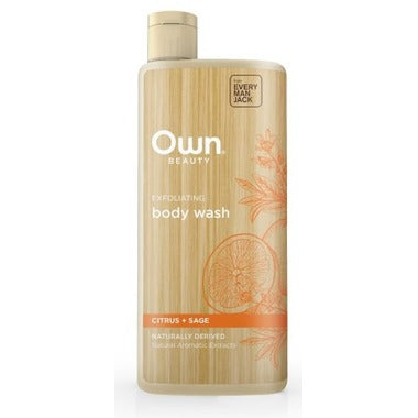 OWN Beauty by Every Man Jack / Body Wash Exfoliating Citrus