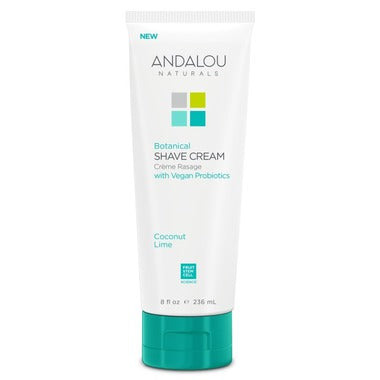 Andalou Naturals Botanical Shave Cream / Coconut Lime