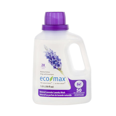 Eco-Max Laundry Wash / 2X Natural Lavender