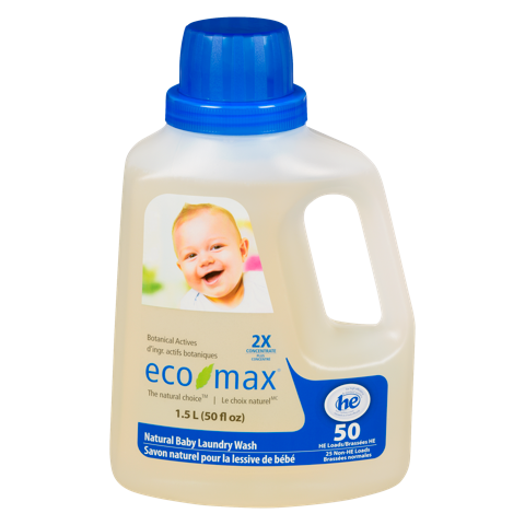 Eco-Max Laundry Wash / Natural Baby