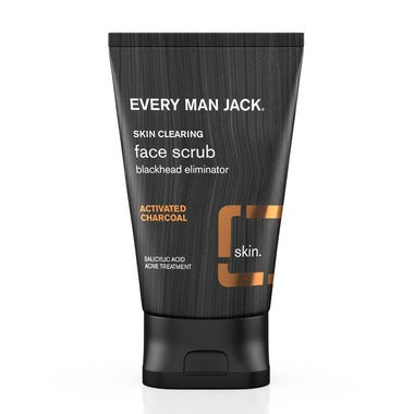 Every Man Jack / Face Scrub Charcoal Skin Clearing