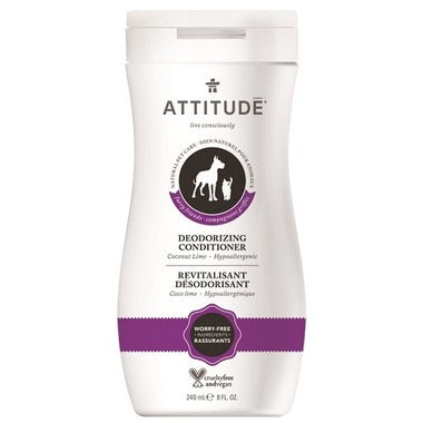 ATTITUDE Natural Furry Friends Deodorizing Conditioner / Coco Lime