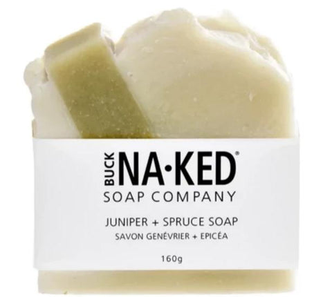 Buck Naked Soap Company / Juniper & Spruce  Bar Soap