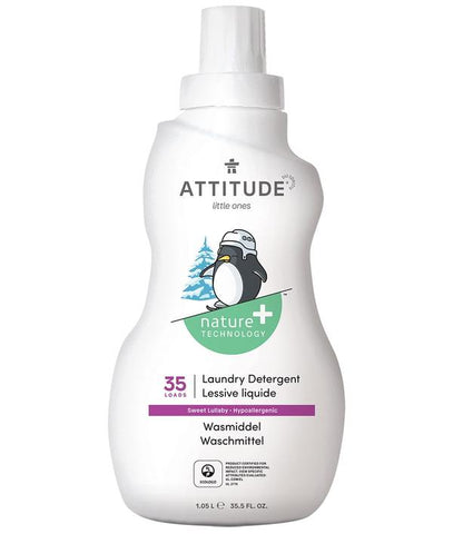 ATTITUDE Nature + Little Ones Laundry Detergent / Sweet Lullaby
