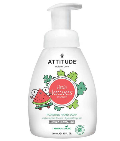 ATTITUDE Little Leaves Foaming Hand Soap / Watermelon & Coco