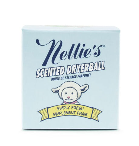 Nellie's Scented Wool Dryerball / Simply Fresh
