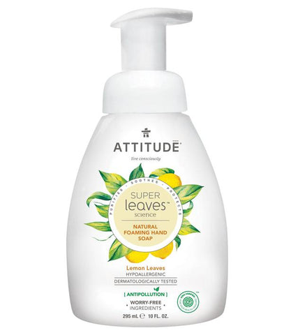 ATTITUDE Super Leaves Foaming Hand Soap / Lemon Leaves