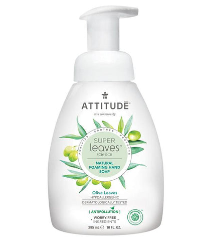ATTITUDE Super Leaves Foaming Hand Soap / Olive Leaves