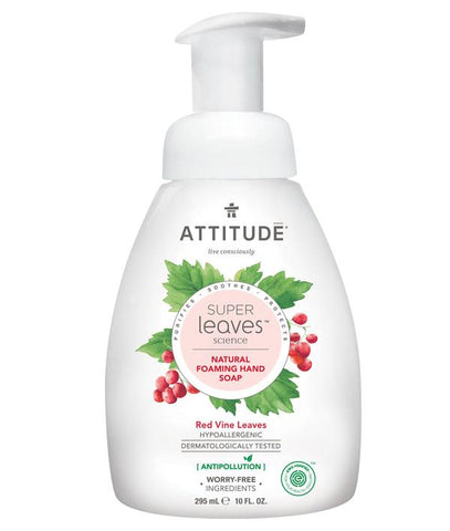 ATTITUDE Super Leaves Foaming Hand Soap / Red Vine Leaves