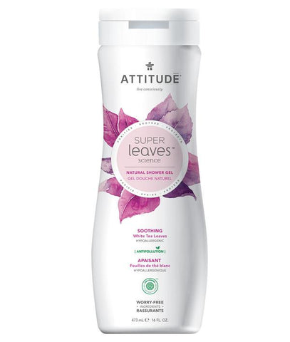 ATTITUDE Super Leaves Natural Shower Gel / Soothing
